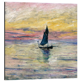 Claude Monet - Sailboat evening