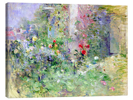 Lienzo  The Garden at Bougival - Berthe Morisot