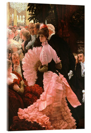 Cuadro de metacrilato  The Reception - James  Tissot