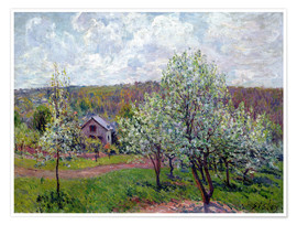 Póster Spring near Paris