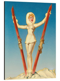 Alberto Vargas - Ski Troops Girl