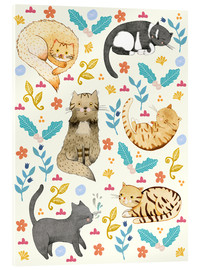 Metacrilato  My Cats - Judith Loske