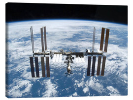 Lienzo  Space station of Space Shuttle Atlantis