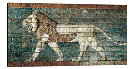 Cuadro de aluminio  Lion mosaic at the temple of Babylon
