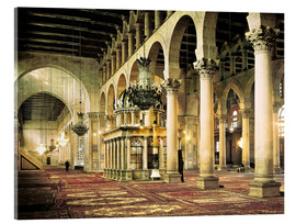 Cuadro de metacrilato  The Umayyad Mosque in Damascus