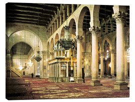 Lienzo  The Umayyad Mosque in Damascus