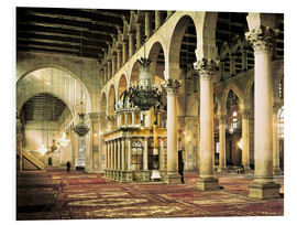 Cuadro de PVC  The Umayyad Mosque in Damascus