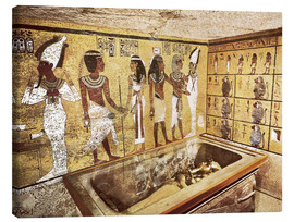 Lienzo  Grave of Tutankhamun in the Valley of the Kings