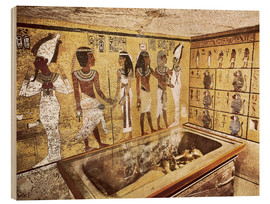 Cuadro de madera  Grave of Tutankhamun in the Valley of the Kings