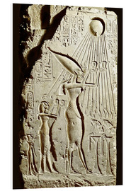 Forex  Pharaoh Akhenaten pays homage to the sun god Aten