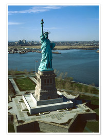 Póster  Statue of Liberty in New York, 1978