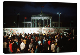 Lienzo  Fall of the Berlin Wall