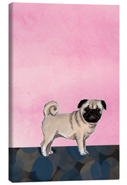 Lienzo  Pug dog - Martine Vuitton-Serape