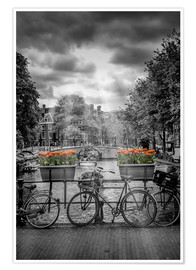 Póster Typical Amsterdam II