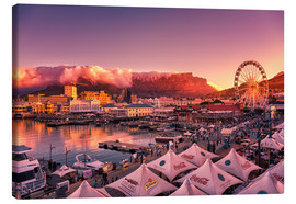 Lienzo  Victoria & Alfred Waterfront, Cape Town, South Africa - Stefan Becker