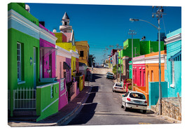 Lienzo  Bo Kaap, Cape Town, South Africa - Stefan Becker