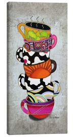 Lienzo  Stacked Hot Cuppa Collection 1 - Megan Duncanson