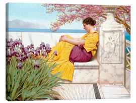Lienzo  Under The Blossom That Hangs On The Bough - John William Godward
