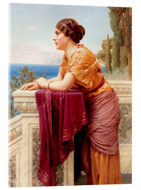 Cuadro de metacrilato  The Belvedere - John William Godward