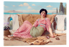 Cuadro de metacrilato  A Quiet Pet - John William Godward