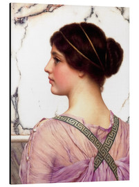 Cuadro de aluminio  A Grecian Lovely - John William Godward