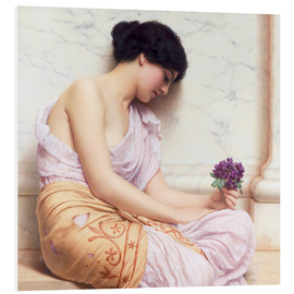 Cuadro de PVC  Violets, sweet violets - John William Godward
