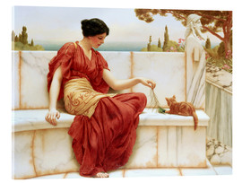 Cuadro de metacrilato  El favorito - John William Godward