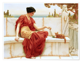 Póster  El favorito - John William Godward