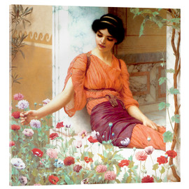 Metacrilato  Summer Flowers - John William Godward