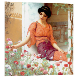 Cuadro de PVC  Summer Flowers - John William Godward