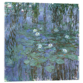 Cuadro de metacrilato  Blue Water Lilies - Claude Monet