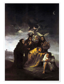 Póster  The Spell, The Witches - Francisco José de Goya