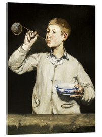 Cuadro de metacrilato  Boy blowing bubbles - Edouard Manet