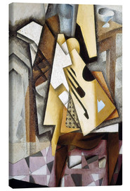 Lienzo  Guitar on a Chair - Juan Gris