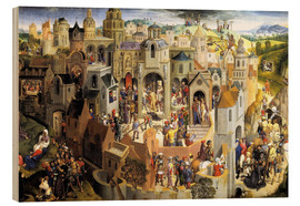 Cuadro de madera  Passion of the Christ - Hans Memling