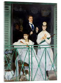 Cuadro de metacrilato  The Balcony - Edouard Manet