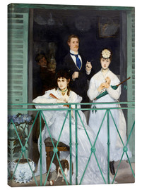 Lienzo  The Balcony - Edouard Manet
