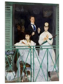 Cuadro de PVC  The Balcony - Edouard Manet