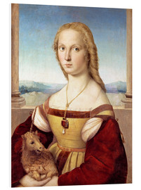 Forex  Woman with an unicorn - Raffael