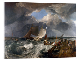 Cuadro de metacrilato  Puerto de Calais - Joseph Mallord William Turner