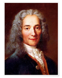 Póster  Voltaire - Catherine Lusurier
