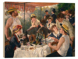 Madera  Luncheon of the boating party - Pierre-Auguste Renoir