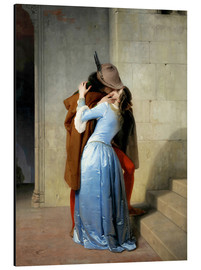 Aluminio-Dibond  The kiss - Francesco Hayez