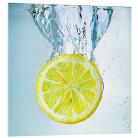Cuadro de PVC  lemon splash - Silvio Schoisswohl