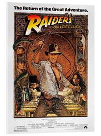 Cuadro de metacrilato  Indiana Jones, Raiders of the lost ark