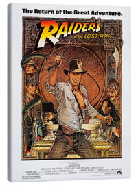 Lienzo  Indiana Jones, Raiders of the lost ark