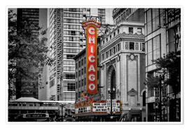 Póster CHICAGO State Street