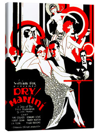 Lienzo  dry Martini - Advertising Collection
