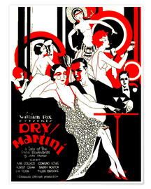 Póster  dry Martini - Advertising Collection