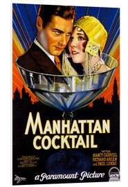 Cuadro de PVC  Manhattan Cocktail - Advertising Collection